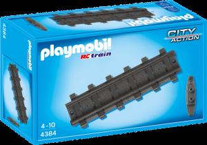 12 rovných kolejnic 4384 Playmobil Playmobil