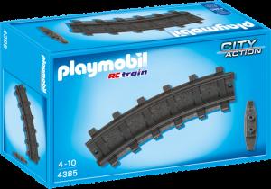 12 zahnutých kolejnic 4385 Playmobil Playmobil