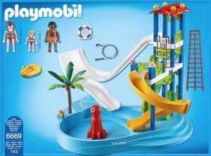 Aquapark se skluzavkami 6669 Playmobil Playmobil