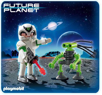 Astronaut a robot 5241 Playmobil Playmobil