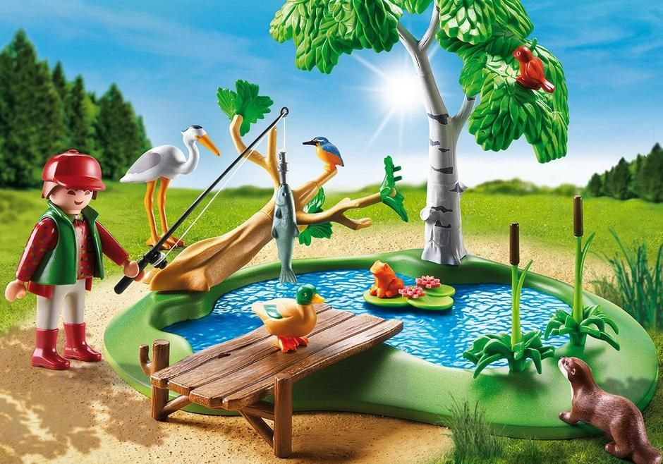 Chovný rybník 6816 Playmobil Playmobil