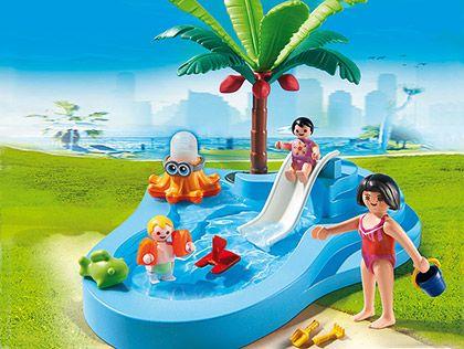 Dětský bazén se skluzavkou 6673 Playmobil Playmobil