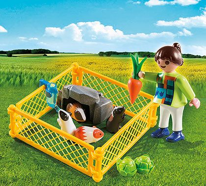 Dívka s morčaty 4794 Playmobil Playmobil