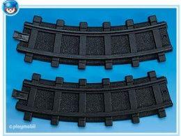 Dvě zahnuté kolejnice 4387 Playmobil Playmobil