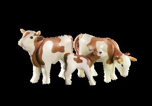 Hnědý skot s mládětem 6356 Playmobil Playmobil