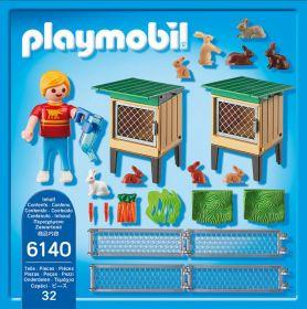 Králíkárna s výběhem 6140 Playmobil Playmobil
