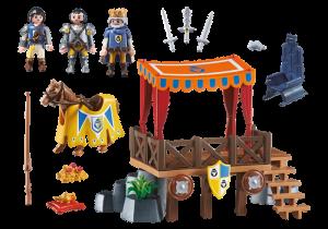 Královská tribuna s Alexem 6695 Playmobil Playmobil