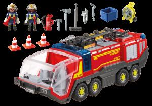Letištní hasičský vůz se sirénou 5337 Playmobil Playmobil