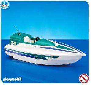 Motorový člun 7519 Playmobil Playmobil