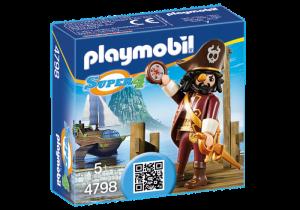 Pirát Vousáč (Sharkbeard) 4798 Playmobil Playmobil