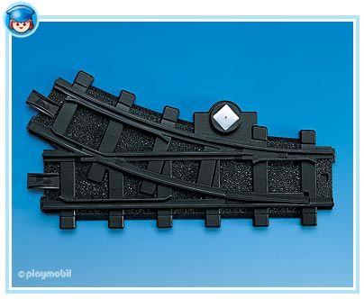 Pravá výhybka 4389 Playmobil Playmobil