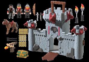 Přenosný hrad Černého barona 6697 Playmobil Playmobil