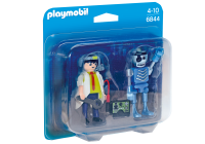 Profesor a robot 6844 Playmobil Playmobil