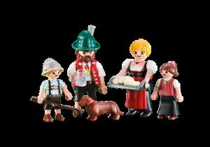 Rodina hajného 6395 Playmobil Playmobil