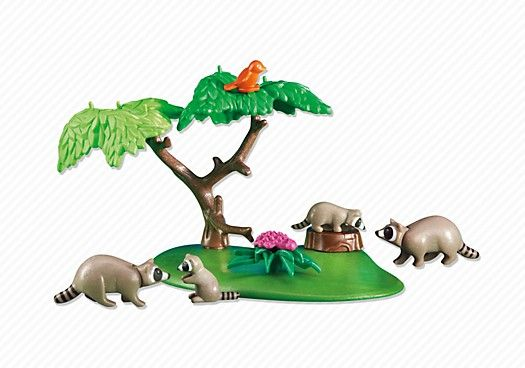 Rodina mývalů 6317 Playmobil Playmobil