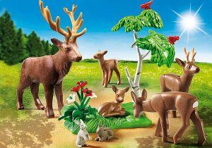 Stádo jelenů 6817 Playmobil Playmobil