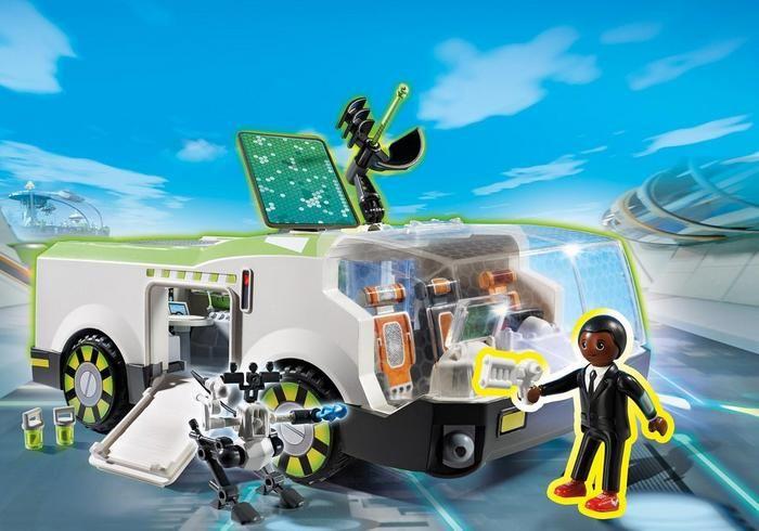 Techno Chameleon s agentem Genem 6692 Playmobil Playmobil