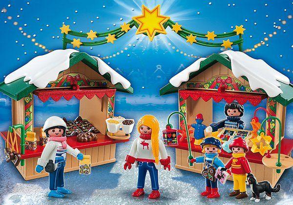 Vánoční trhy 5587 Playmobil Playmobil