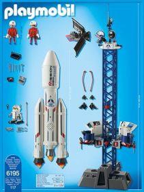 Vesmírná základna s kosmickou raketou 6195 Playmobil Playmobil
