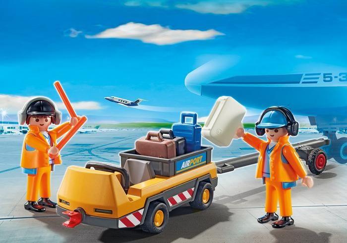 Vozík s dispečery letového provozu 5396 Playmobil Playmobil