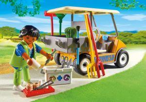 Auto ošetřovatele zvířat 6636 Playmobil Playmobil