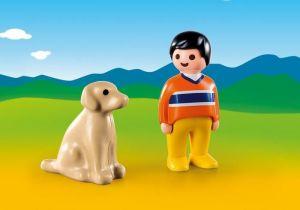 Chlapec s pejskem (1.2.3) 9256 Playmobil Playmobil