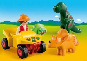Dinosaurus a vědec na čtyřkolce (1.2.3) 9120