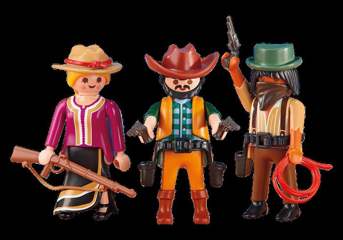 Dva kovbojové s dívkou 6278 Playmobil Playmobil