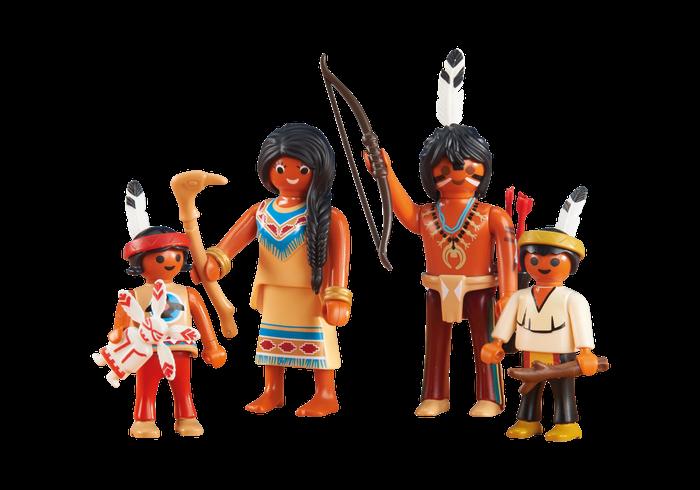 Indiánská rodina 6322 Playmobil Playmobil