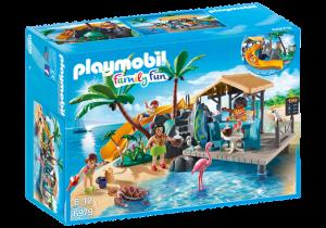 Karibský ostrov s pláží 6979 Playmobil Playmobil
