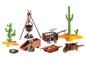 Kemp zlatokopů 6479 Playmobil Playmobil