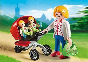 Kočárek pro dvojčata 5573 Playmobil Playmobil