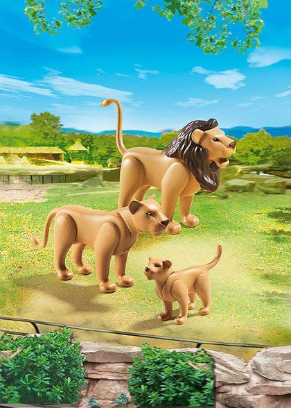 Lví rodina 6642 Playmobil Playmobil