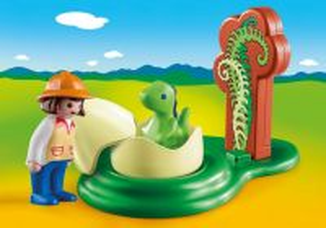 Malý dinosaurus ve vajíčku (1.2.3) 9121 Playmobil Playmobil