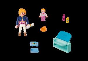 Maminka a dítě s přebalovacím pultem 5368 Playmobil Playmobil
