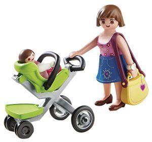 Maminka s moderním kočárkem 5491 Playmobil Playmobil