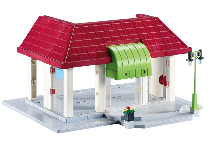 Nová budova 6220 Playmobil Playmobil
