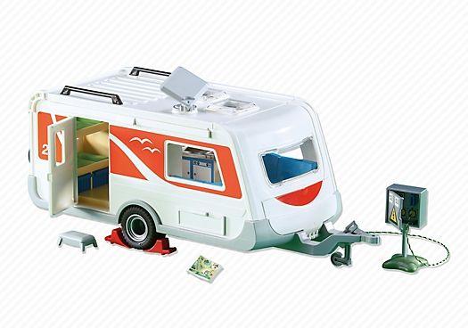Obytný přívěs 6513 Playmobil Playmobil