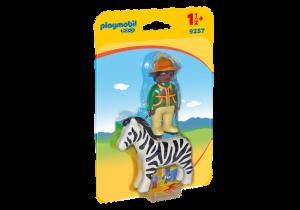 Ošetřovatel a zebra (1.2.3) 9257 Playmobil Playmobil