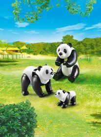 Pandy s mládětem 6652