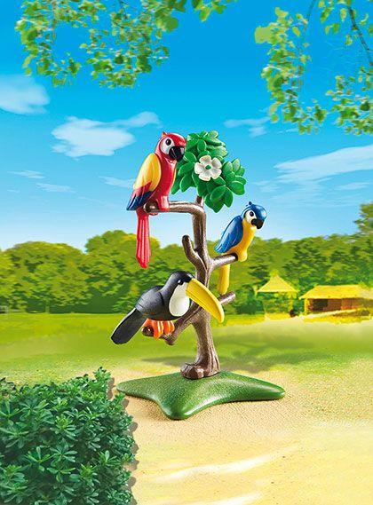 Papoušci a tukan 6653 Playmobil Playmobil