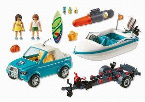 Pickup surfaře s motorovým člunem 6864 Playmobil Playmobil