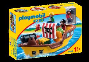 Pirátská loď (1.2.3) 9118 Playmobil Playmobil
