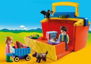 Přenosný prodejní stánek (1.2.3) 9123 Playmobil Playmobil