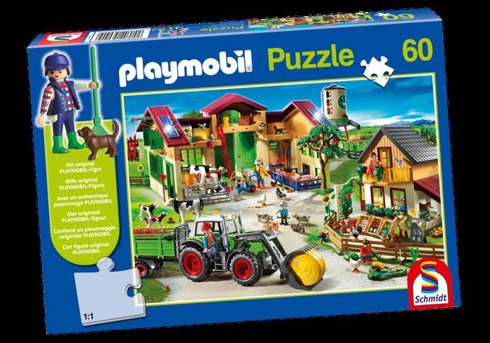 Puzzle Farma 80352 Playmobil Playmobil