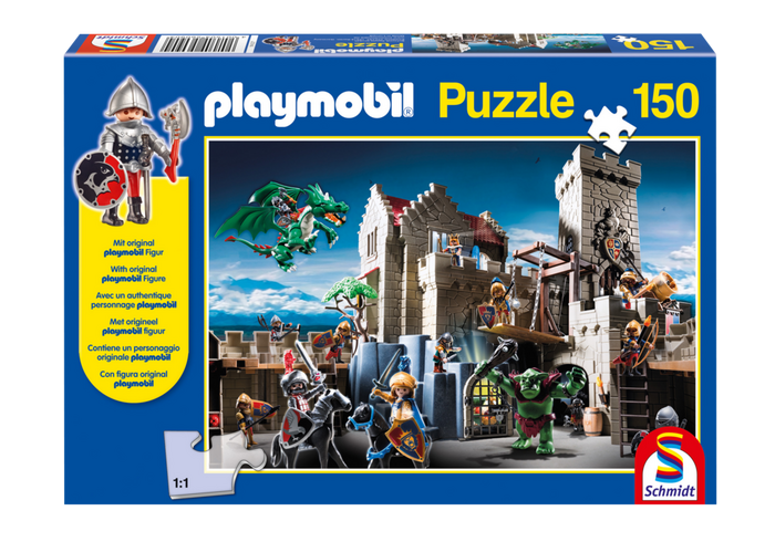 Puzzle Královský hrad 80434 Playmobil Playmobil