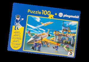 Puzzle Letiště 80415 Playmobil Playmobil
