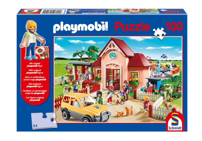 Puzzle Veterinární klinika 80435 Playmobil Playmobil