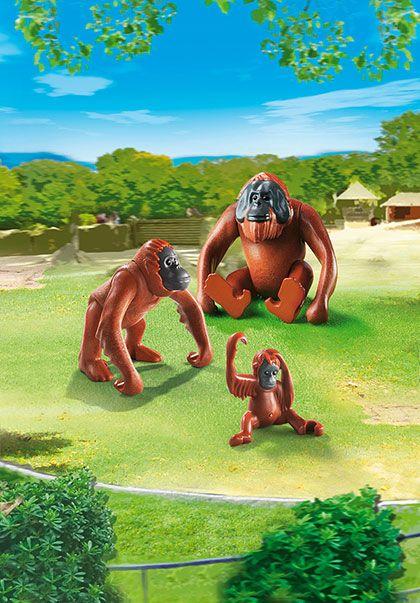 Rodina orangutanů 6648 Playmobil Playmobil