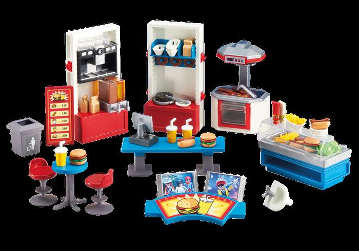 Rychlé občerstvení 6441 Playmobil Playmobil
